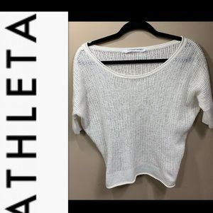 Athleta crop sweater women's XXS